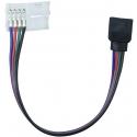 Conector Click RGB a 4pin con Cable 15cm de Tiras de Led