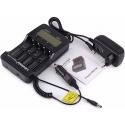 Cargador LiitoKala Usb para 4 Baterías de Litio-NI/MH