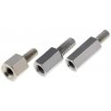 Separadores Hexagonales Metal M3 Rosca un Lado 8mm.LL5