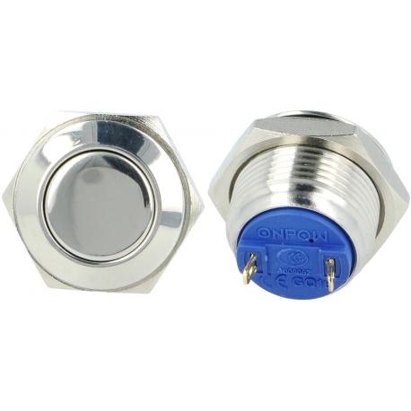 Pulsador de panel Antivandalos 16mm-10FS