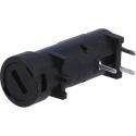 Porta fusibles 5x20mm Schurter
