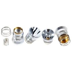 Reflector de Aluminio 26x27mm