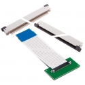Conectores FPC-FFC Placa-Cable plano Flat paso 0.5mm