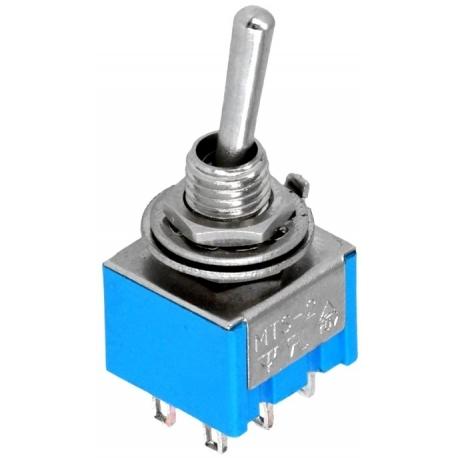 Interuptor de palanca vertical 2C-3pos.