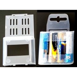 Cajas Estuches Baterías 4xAAA o AA
