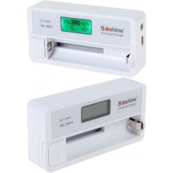 Cargador de Baterías de Litio/NiMh Soshine SC-S7