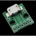 Pcb Micro USB-B Hembra