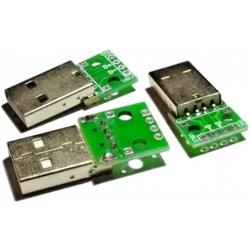 USB-A Hembra Adaptador Circuito Pcb