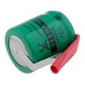 Batería NI-MH Recargable 1.2v. 1/3AA 300mA especial AA con lengueta