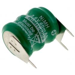 Batería NI-MH Recargable 3.6v.60mA especial AA con lengueta