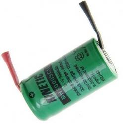Batería NI-MH Recargable 2/3 de AA 2.4v 300mA especial AA con lengueta