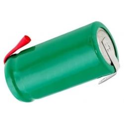 Batería de Niquel con Lengueta NI-MH-1.2v.650mAh 2/3 AA