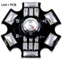 Led RGB 3w 6 Pin Prolight