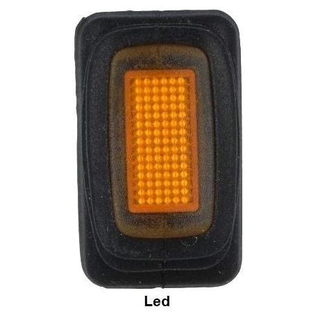 Interruptor basculante 1328 IP65 (Rocker) 2 posiciones Led o Neon