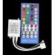Controlador PWM IR RGB+W 12v.8A.40 teclas