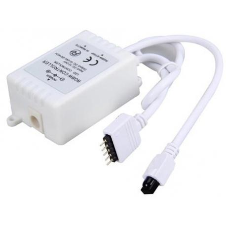 Controlador PWM IR RGB+W 12-24v