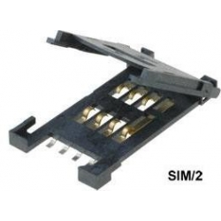 Conector Tarjeta de Memoria SIM de 2x8 pin