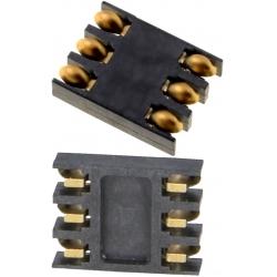 Conectores SIM de memorias 115D 6 pin