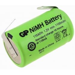 Batería NI-MH Recargable 1.2v. 2/3AA 1100mA especial AA con lengueta