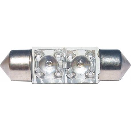 Festoon 2 LED Superflux 36mm