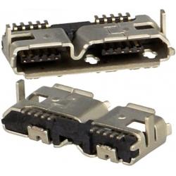 Conector USB 3.0 Hembra PCB 209E
