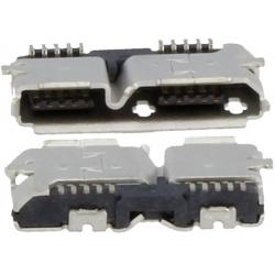 Conector USB B 3.0 Hembra PCB