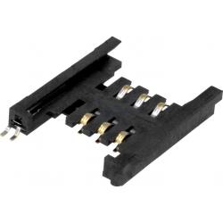 Conectores SIM de memorias 115J 6 pin