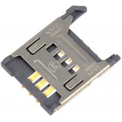 Conectores SIM de memorias 115G 6 pin