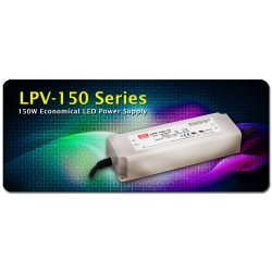 Fuentes Estancas Mean-well LPV150 para Led