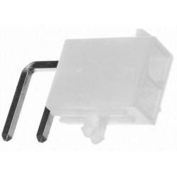 MX39 MiniFit PCB 2pin Acodado