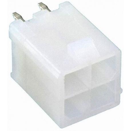 MX39 MiniFit PCB 4pin Recto