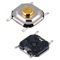 Pulsador Tact Switch SMD de 5.2x5.2x1.5mm