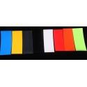 Termo Retráctiles PVC Cortados 30x72x75mm Colores..