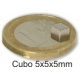Imanes cubos de Neodimio 5x5x5mm