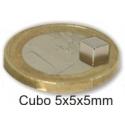 Imanes Cubos de Neodimio N38~N48