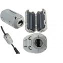 Supresores Emi Gris para cables 5mm