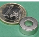 Iman Neodimio anillo 15x6x6mm