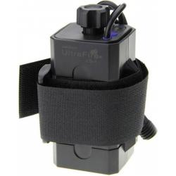 Porta baterías 4x18650 con cables USB Ultrafire