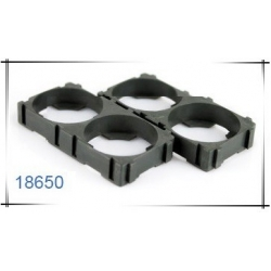 Soporte Porta-baterías 2x18650