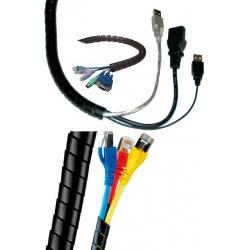 Espiral funda para cables