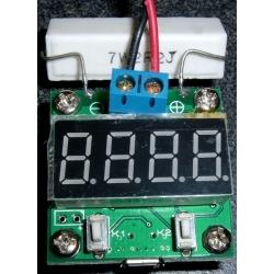 Circuito Tester de baterías, Voltaje, Capacidad Syonyk