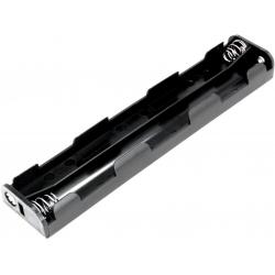 Portapilas baterías 6 x AA, LR06, 14500