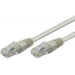 Cable RJ45 CAT 5e F/UTP Gris