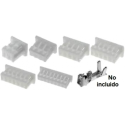 Conectores Hembra MX51021 paso 1.25mm