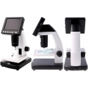 Microscopio con pantalla Lcd