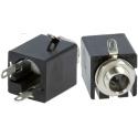 Conectores Jack audio hembra 6.3mm