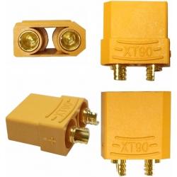 Conector XT90 de potencia Yelow