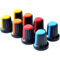 Botón de mando de 15x17mm dos colores