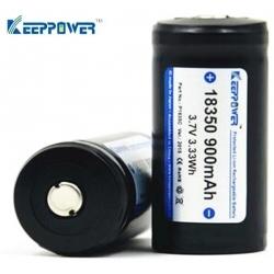 Baterias Litio 18350 3.7v 900mA Keep Power