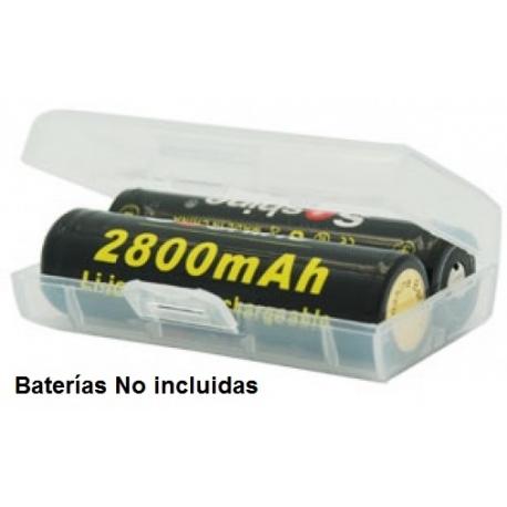 Caja Estuche de protección de Baterías 2x18500-17670